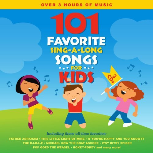 Songtime Kids 101 Favorite Sing A Long Songs 3 CD