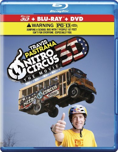 Nitro Circus The Movie 3d Nitro Circus The Movie 3d Blu Ray 3d Ws Pg13 2 Br Incl. DVD