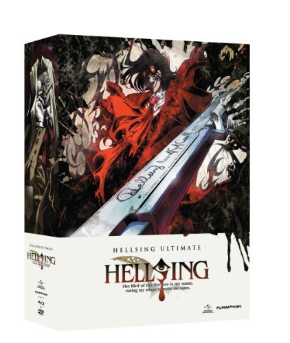 Hellsing Ultimate Vol. 5 8 Box Set Blu Ray Tvma Incl. DVD