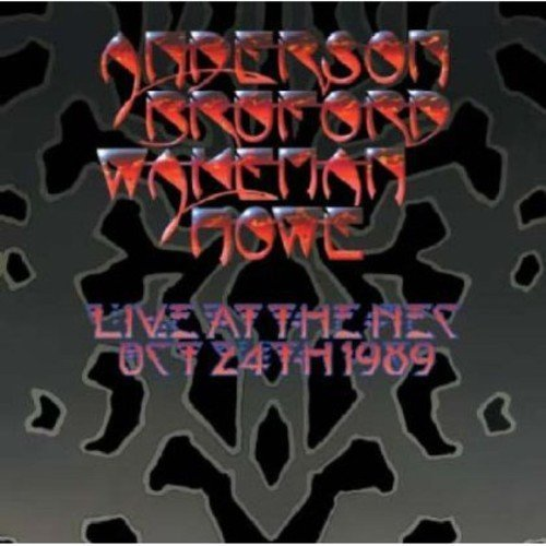 Anderson Bruford Wakeman & How Live At The Nec 2 CD