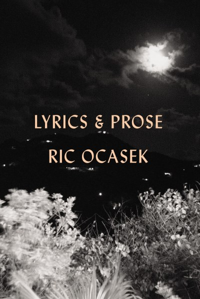 Ric Ocasek Lyrics & Prose