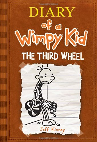 Jeff Kinney Third Wheel The Diary Of A Wimpy Kid