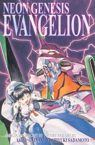 Yoshiyuki Sadamoto Neon Genesis Evangelion 3 In 1 Edition Vol. 1 Includes Vols. 1 2 & 3 0003 Edition;original