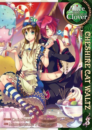 Quinrose Alice In The Country Of Clover Volume 3 Cheshire Cat Waltz