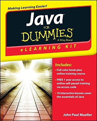 John Paul Mueller Java For Dummies Elearning Kit