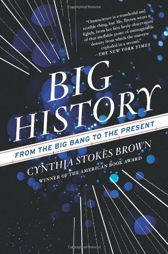 Cynthia Stokes Brown Big History From The Big Bang To The Present