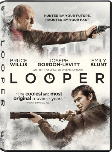 Looper Willis Gordon Levitt DVD Uv R Ws