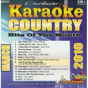 Chartbuster Karaoke Country Hits Of The Month July 2010
