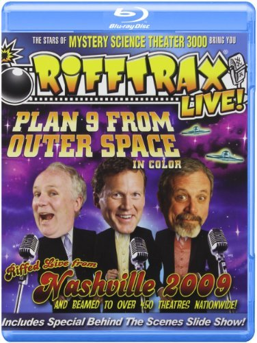 Rifftrax Live! Plan 9 From Outer Space Blu Ray Ws Nr