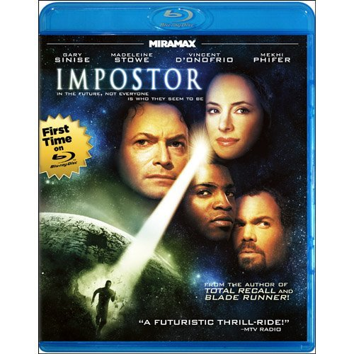 Impostor Sinise Stowe D'onofrio Blu Ray Ws Pg13