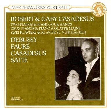 Robert Casadesus Two Piano & Piano Four Ha