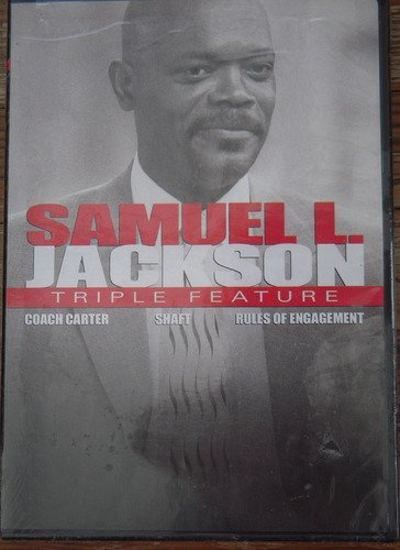 Jackson Samuel L. Triple Feature Coach Carter Shaft Rules Of Engagement