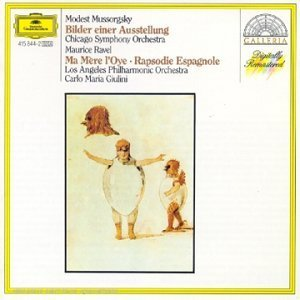 Modest Mussorgsky Maurice Ravel Carlo Maria Giulin Mussorgsky Pictures At An Exhibition; Ravel Ma M