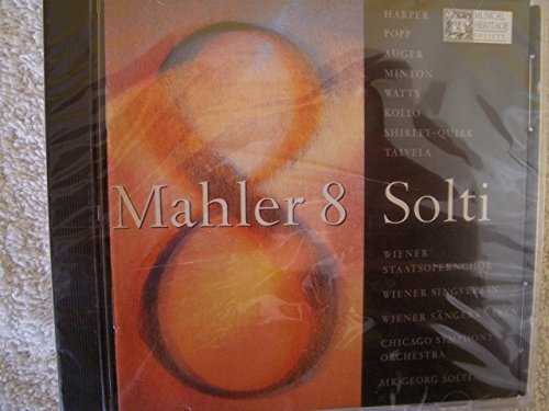 Sir Georg Solti Chicago Symphony Orchestra Vienna Mahler Symphony No. 8