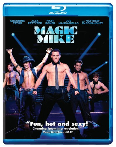 Magic Mike Tatum Pettyfer Mcconaughey Blu Ray