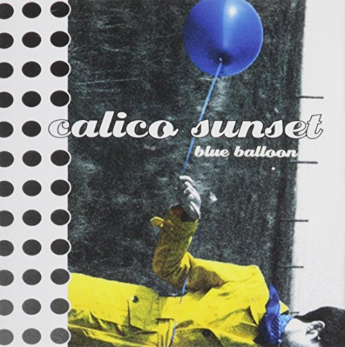 Calico Sunset Blue Balloon