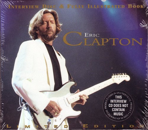 Eric Clapton Interview Disc & Book Import Gbr Incl. Book