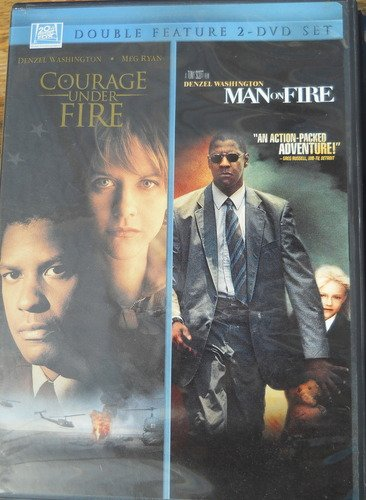 Man On Fire Courage Under Fire Fox 2pak Clr Side By Side Nr 2 DVD