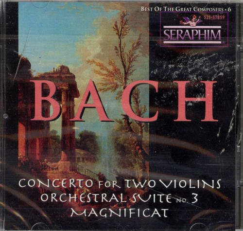 Bach J.S. Vol. 6 Best Of The Great Compo Menuhin Bath Fest Orch