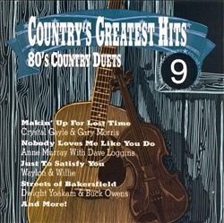 Country's Greatest Hits Vol. 9 80's Country Duets Rabbitt & Gayle Yoakam & Owens Country's Greatest Hits