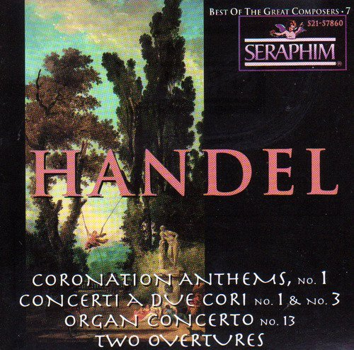 Handel G.F. Vol. 7 Best Of The Great Compo Menuhin Menuhin Fest Orch