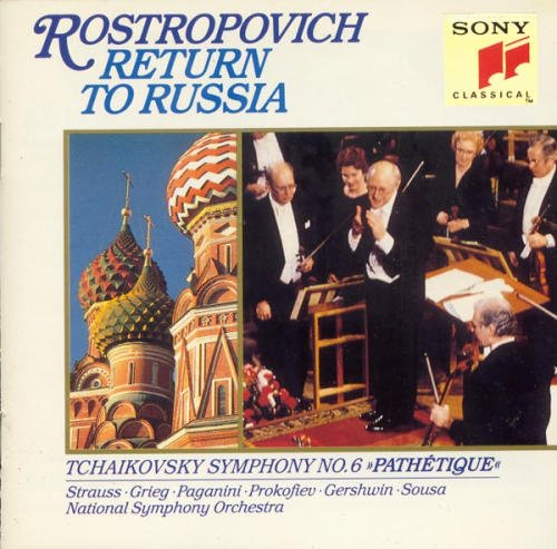 Rostropovich National Sympho Return To Russia