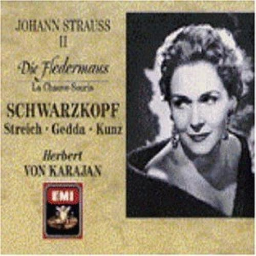 J. Strauss Fledermaus Comp Opera