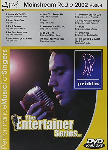 Karaoke Mainstream Radio 2002 Clr Nr