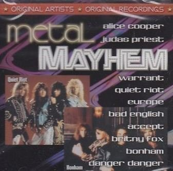 Music Legends Metal Mayhem Euhope Warrant Bonham Music Legends