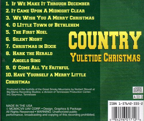 Country Yuletide Christmas Country Yuletide Christmas