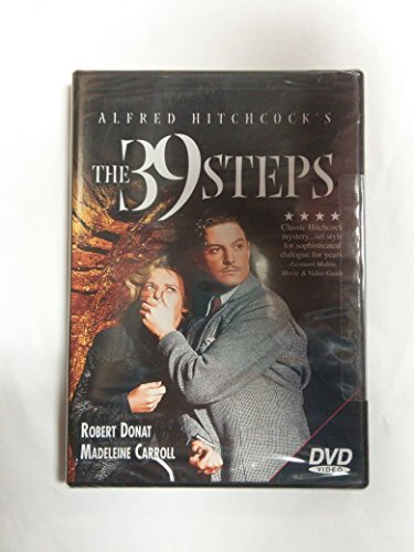 Roger Donat Madeleine Carrol Alfred Hitchcock's The 39 Steps (worldwide Use)