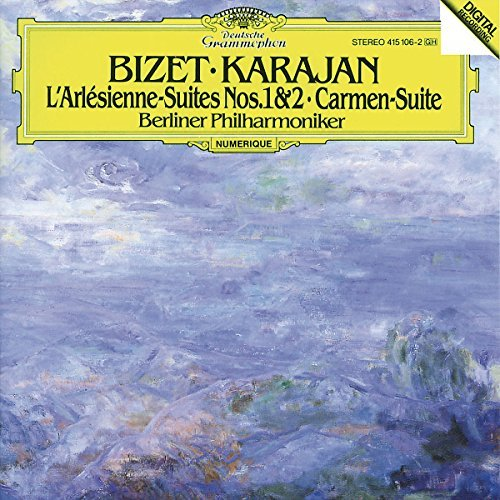 Karajan Berlin Philharmonic Or Bizet Carmen Suite No.1 L'arl Import Eu