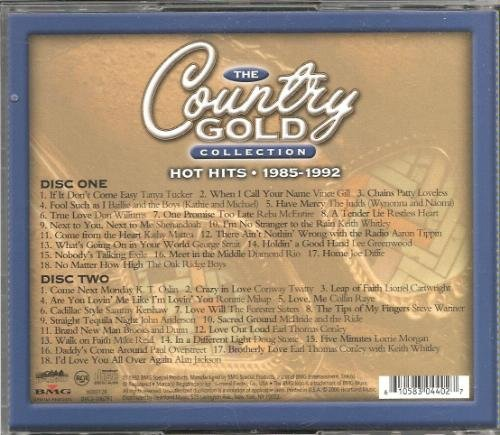 Country Gold Collection Hot Hits 1985 1992