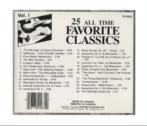 25 All Time Favorite Classics 25 All Time Favorite Classics
