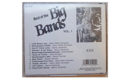 Various Artists Best Of The Big Bands (vol 1)