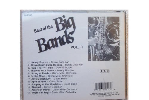 Various Artists Best Of The Big Bands (vol 2)