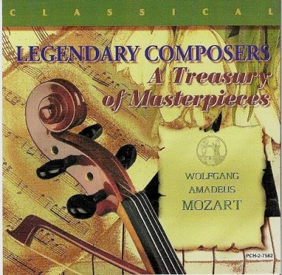 W.A. Mozart Legendary Composers A Treasury Of Masterpieces