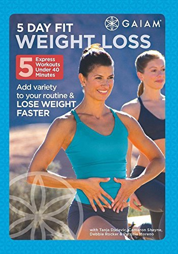 5 Day Fit Weight Loss 5 Day Fit Weight Loss DVD Mod This Item Is Made On Demand Could Take 2 3 Weeks For Delivery