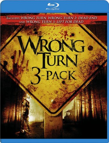 Wrong Turn 3pak Wrong Turn 3pak Blu Ray Ws Nr 3 Br