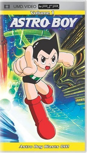 Astro Boy Vol. 1 Astro Boy Blasts Off Ws Umd Nr