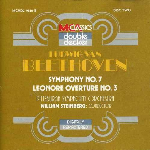 L.V. Beethoven Beethoven Symphony No. 7 And Lenore Overture No. 3