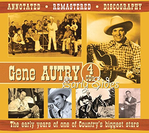 Gene Autry Early Years Of One Od Country' 4 CD