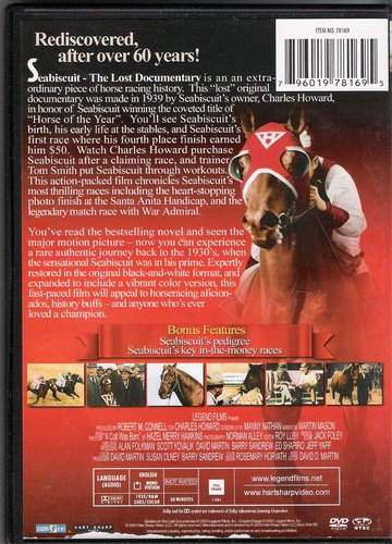 Seabiscuit Lost Documentary