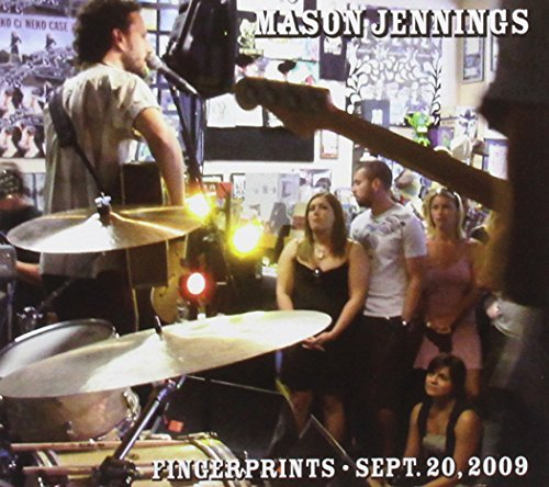 Mason Jennings Fingerprints September 20 2009 Digipak