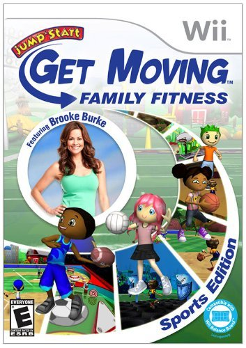 Wii Get Moving Family Fitness Knowledge Adventure E