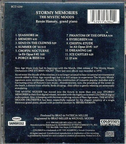 Mystic Moods Orchestra Stormy Memories