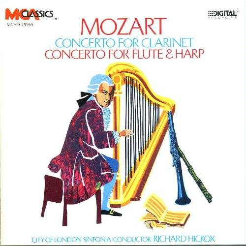 W.A. Mozart Concerto For Clarinet Concerto For Flute