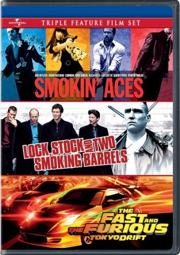 Triple Feature Smokin' Aces Lock Stock & Two Smoking Barrels Ws Nr 2 DVD