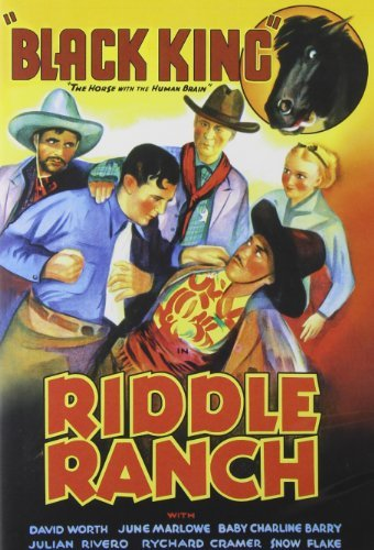 Riddle Ranch (1935) Worth Toones Bw Nr