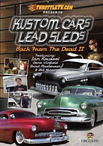 Kustom Cars Lead Sleds Back Fr Kustom Cars Lead Sleds Back Fr Nr